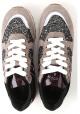 Hogan R261 ALLACCIATO Sneakers donna in pelle Scamosciato multicolor