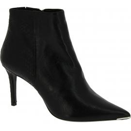 Barbara Bui Stivaletti alla caviglia a punta con tacco da donna in pelle nera