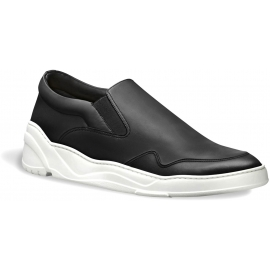 Sneakers slip-on Dior uomo in pelle nero