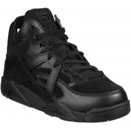 Sneakers Fila da donna in pelle e tessuto nero