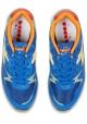 Sneakers Diadora uomo in pelle e tessuto azzurro