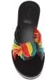 Ciabatte Chloé donna in pelle multicolore