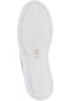 Steve Madden Sneakers platform da donna in camoscio beige con pelliccia