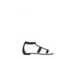 Sandali bassi Prada